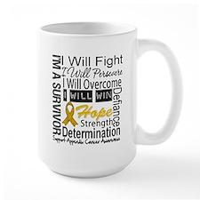 Appendix Cancer Perseverance Mug