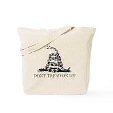 Cute Don't tread me Tote Bag