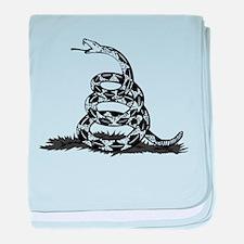 Funny Herman cain baby blanket