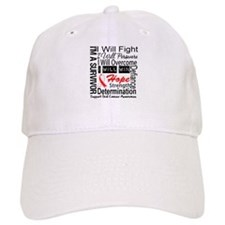 Oral Cancer Persevere Baseball Cap