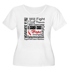 Oral Cancer Persevere T-Shirt