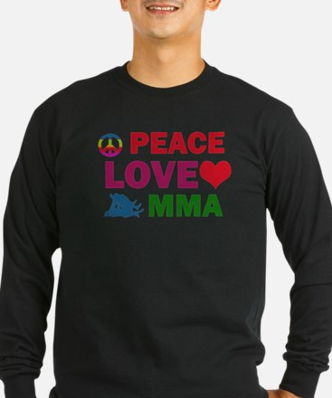 Peace Love MMA Designs T