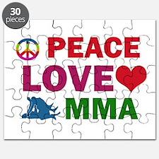 Peace Love MMA Designs Puzzle