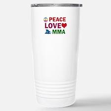 Peace Love MMA Designs Travel Mug
