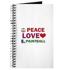 Peace Love Paintball Designs Journal