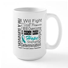 Cervical Cancer Persevere Mug
