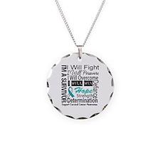 Cervical Cancer Persevere Necklace