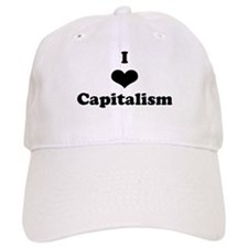 I Heart Baseball Capitalism Baseball Cap
