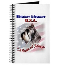 Miniature Schnauzer Gifts Journal