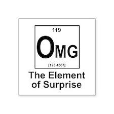 "Element Omg Square Sticker 3"" x 3"""