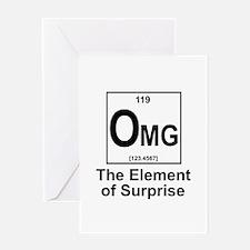 Element Omg Greeting Card