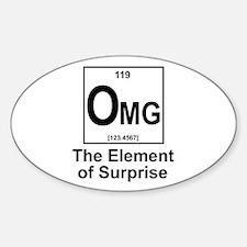 Element Omg Sticker (Oval)