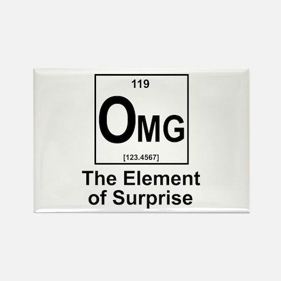 Element Omg Rectangle Magnet