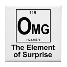 Element Omg Tile Coaster