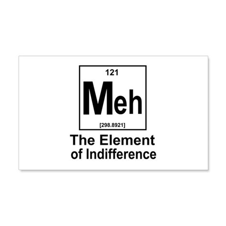 Element Meh 20x12 Wall Decal