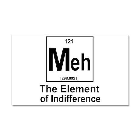 Element Meh Car Magnet 20 x 12