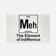 Element Meh Rectangle Magnet