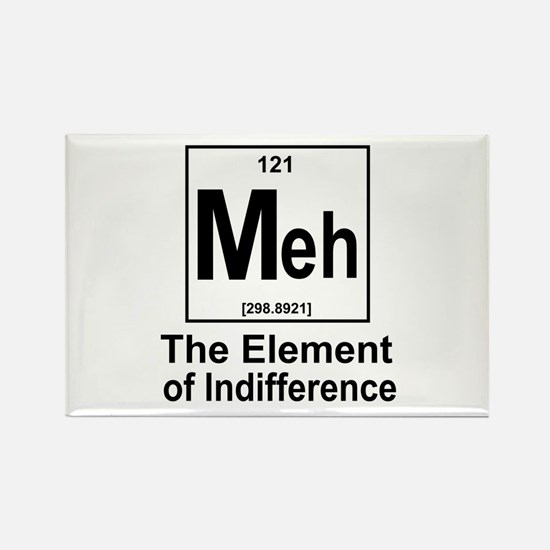 Element Meh Rectangle Magnet