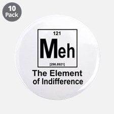 "Element Meh 3.5"" Button (10 pack)"