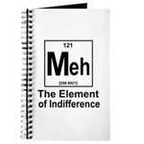 Element of indifference Journals & Spiral Notebooks