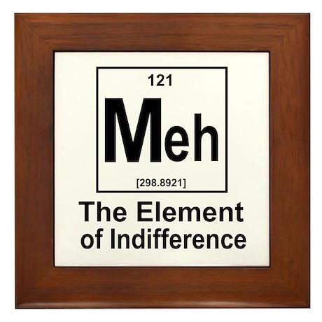 Element Meh Framed Tile