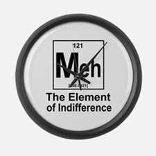 Element Meh Large Wall Clock