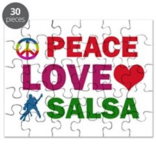 Peace Love Salsa Designs Puzzle