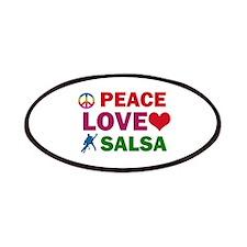 Peace Love Salsa Designs Patches