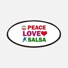 Peace Love Salsa Designs Patches