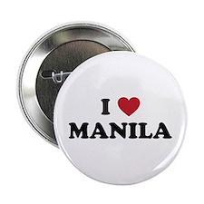 """I Love Manila 2.25"""" Button"""