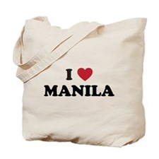 I Love Manila Tote Bag
