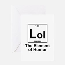 Element lol Greeting Card