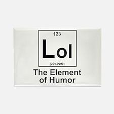 Element lol Rectangle Magnet
