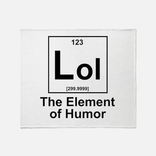 Element lol Throw Blanket