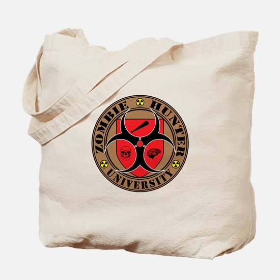 Zombie Hunter University Tote Bag