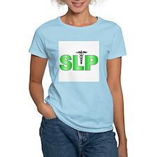 SLP Green  Women's Pink T-Shirt