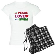 Peace Love Swim Designs Pajamas