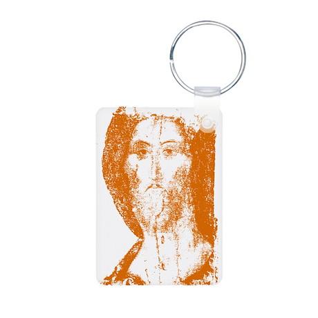 Jesus Aluminum Photo Keychain