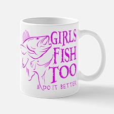 GIRLS FISH TOO WALLEYE Mug