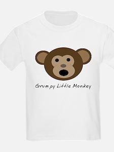 Grumpy Little Monkey T-Shirt
