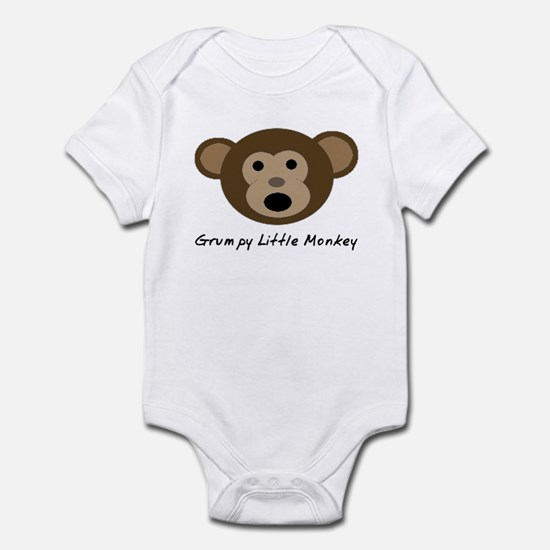 Grumpy Little Monkey Infant Bodysuit