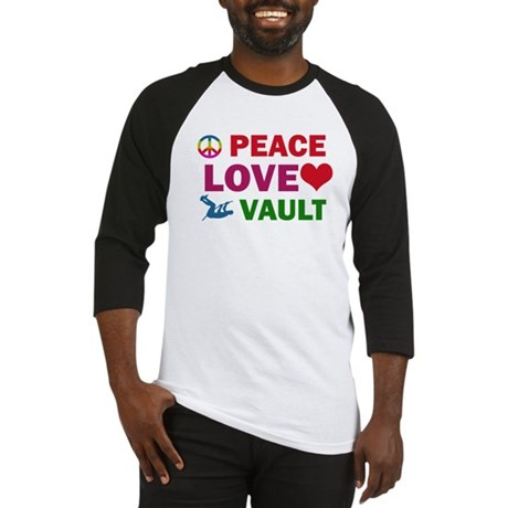 Peace Love Vault Designs Baseball Jersey