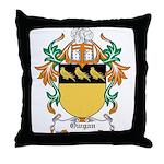 Owgan Coat of Arms Throw Pillow