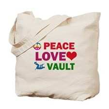 Peace Love Vault Designs Tote Bag
