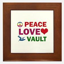 Peace Love Vault Designs Framed Tile
