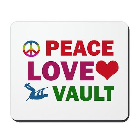 Peace Love Vault Designs Mousepad
