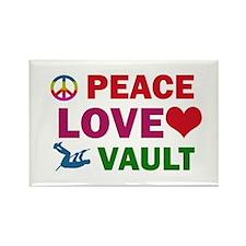 Peace Love Vault Designs Rectangle Magnet