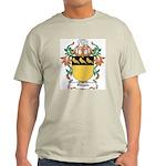 Owgan Coat of Arms Ash Grey T-Shirt