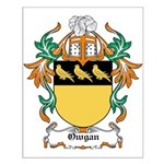 Owgan Coat of Arms Small Poster