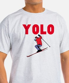 Yolo Skiing T-Shirt